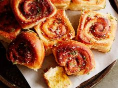 It's just not brunch without bacon, and you can even bake these cheesy rolls a day in advance. Just refrigerate and reheat for a satisfying treat in the morning.