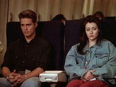 """""""Beverly Hills, 90210"""" (Season 4, originally aired December 22, 1993) - Episode: Somewhere in the World It's Christmas"""