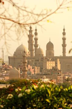 View of Old Cairo from al-Azhar Park, Egypt