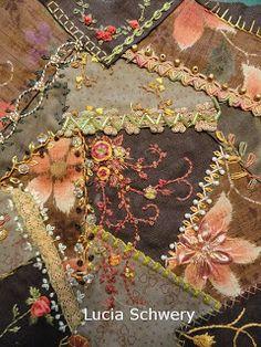 Kits e projetos de bordado, linhas multicoloridas tingidas artesanalmente, cursos de bordado. Patchwork.      Aulas de bordados e workshop.