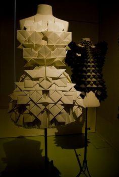 sandra backlund paper dresses