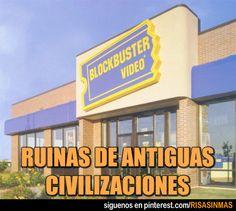 Ruinas de antiguas civilizaciones.