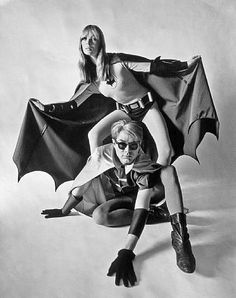 Nico and Andy Warhol, Batman & Robin