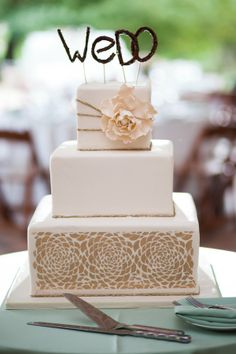 nice wed cake