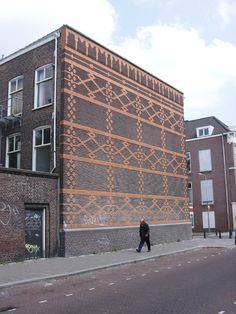 Zagara ::: Brick wall ::: The Hague, the Netherlands :::