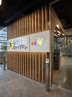 If you`re one of the most important players of e-trade in the global market you have to live up to the level of others. So, the new office of E-Bay-Gitti G