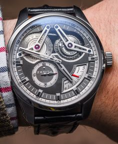 Zenith Academy Georges Favre-Jacot Titanium Watch Hands-On Hands-On