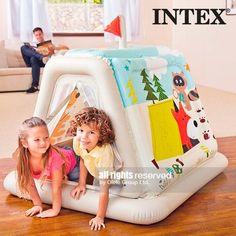 НАДУВАЕМА ПАЛАТКА ЗА ДЕЦА INTEX