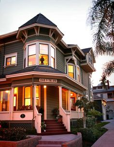 Gorgeous San Diego Victorian - The John Ginty House featured in San Diego Magazine