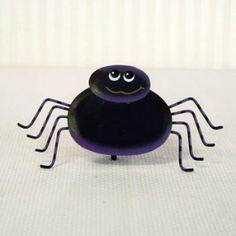 """$2.95  4"""" x 7.5"""" metal spider ornament..  Fun little scary spider"""