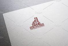 FAIN HOUSING LOGO by Haseeb Khattak on @creativemarket