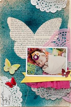 Maggie Holmes.  Cute idea...page out of favorite storybook.