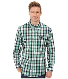 The fashion police can't say anything to you as long as you're wearing this handsome and stylish button-up.