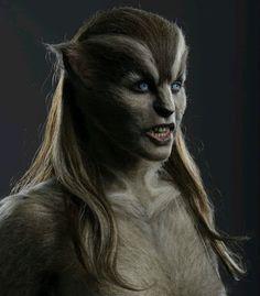 Female Werewolves, Vampires And Werewolves, Grimm, Face Off, Fantasy Creatures, Mythical Creatures, Dark Fantasy, Fantasy Art, Wolf Movie