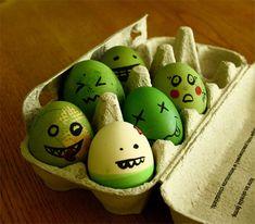 happy easter/zombie eggs