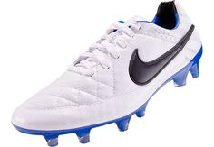 Nike Tiempo Legend V FG Soccer Cleats - White Reflective Pack...Free Shipping...Available at SoccerPro.