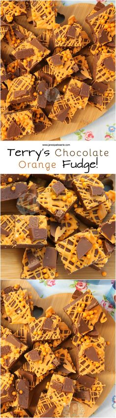 ❤️ Easy, Delicious, and oh so Chocolate… Terrys Chocolate Orange Fudge! ❤️ Easy, Delicious, and oh so Chocolatey. Terry's Chocolate Orange Fudge that is SO easy to make you'll be making it again and again. Chocolate Orange Truffles Recipe, Terry's Chocolate Orange, Chocolate Bark, Christmas Fudge, Christmas Treats, Christmas Baking, Christmas Candy, Fudge Recipes, Candy Recipes