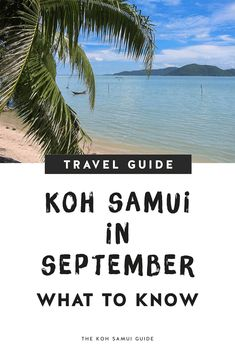 Your Total Guide to Koh Samui, Thailand in September: Weather, What to Expect and September FAQs – Everything you need to know about visiting Koh Samui, Thailand in September: Find out what Koh Samui weather is like in September, how much it rains, the best things to do & more! | #kohsamui #thailand #kohsamui #travel Singapore Travel Tips, Thailand Travel Tips, Asia Travel, Samui Thailand, Koh Samui, August Holidays, Backpacking Tips, Koh Tao, Phuket
