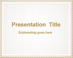 Simple PowerPoint Design is a simple design template for PowerPoint presentations that you can download and use as a Microsoft PowerPoint 2007 template and also as a free MS PowerPoint 2010 template
