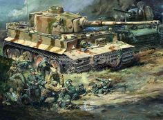 Tiger tank in Russia Military Art, Military History, Tank Wallpaper, Military Drawings, Tank Armor, Ww2 Pictures, Ww2 History, War Thunder, Tiger Tank