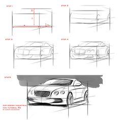 tutorial sketch car #6 by Czajkovski
