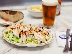 Crab Louie (seasonal) (2014 & 2015): Swan Oyster depot (Nob Hill)