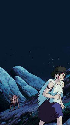 Studio Ghibli Art, Studio Ghibli Movies, Hayao Miyazaki, Princes Mononoke, Princess Mononoke Wallpaper, Studio Ghibli Background, Tomb Raider Cosplay, Anime Screenshots, Bleach Anime