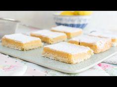 Vídeo-receta en un minuto: Lemon Bars