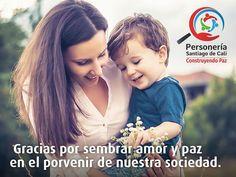 A todas las Madres: Gracias! Feliz día de la Madre #ConstruyendoPaz