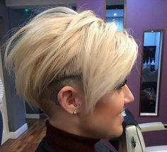 undercut shaved stacked inverted bob haircut. Black Bedroom Furniture Sets. Home Design Ideas
