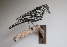 Aaron Kramer wire bird, Avian Dreams, Altered Space Gallery, Venice Beach
