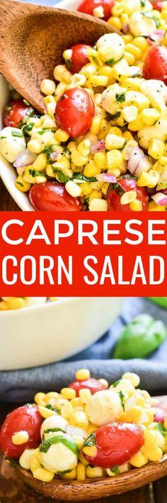 This Caprese Corn Sa
