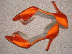 orange wedding shoes - Google Search