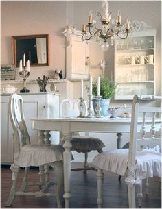 White dining.