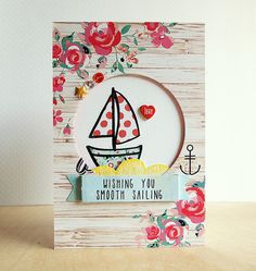 Fantastic use of a masculine image for a female card.