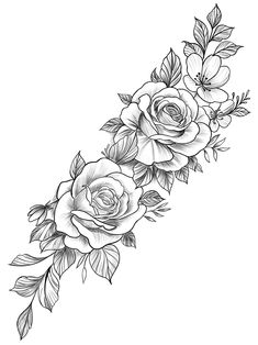 Forearm Tattoo Design, Tattoo Design Drawings, Tattoo Sleeve Designs, Flower Tattoo Designs, Sleeve Tattoos, Dream Tattoos, Cute Tattoos, Body Art Tattoos, Rose Flower Tattoos