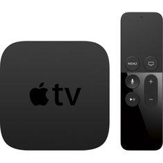 Apple - Apple TV - 64GB - Black - Front Zoom