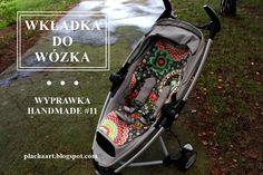 """DIY, zrób to sam, blog z instrukcjami """"krok po kroku"""": Wkładka do wózka - wyprawka handmade #11"""
