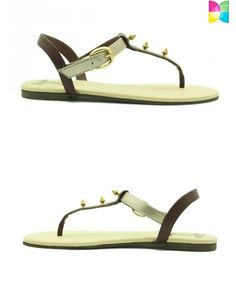 Zlata Color Blocked Sandals by Rhythm and Shoes