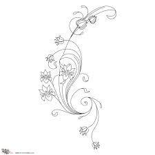 art nouveau butterfly tattoo - Google Search