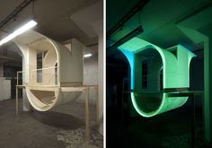 http://www.designboom.com/design/glow-in-the-dark-urban-dwelling-by-jiri-prihoda-10-15-2013/
