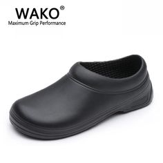 New Mens Chef Shoes Kitchen Working Footwear Cook Waterproof Safety Loafers 9021