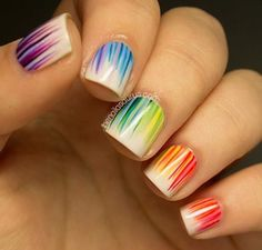 130 Stylish Nail Designs For Short Nails 2018 - Fashionre