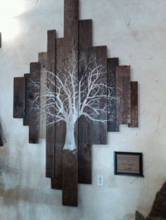 Barn wood art piece- LOVE these :-) @Angela Helliwell this is what I was telling you about!