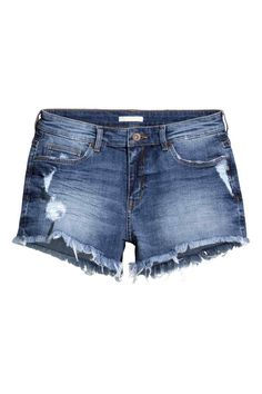 Krótkie szorty dżinsowe   H&M