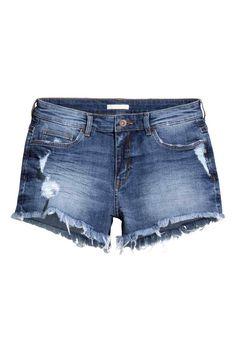 Krótkie szorty dżinsowe | H&M