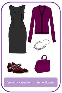 Stil-Mix-Outfit: Feminin-elegantes Outfit mit romantischen, lässigen Akzenten; www.modefluesterin.de - #romantic #feminin #elegant #outfit #40plus