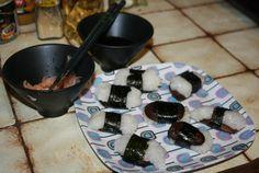 Sushis aux shitakés