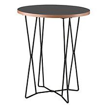 Network Wire Base Round End Table, 8801541