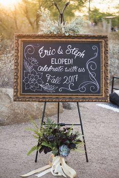 Cool Desert Elopement Picnic | A Travelers Heart | Bridal Musings Wedding Blog 1